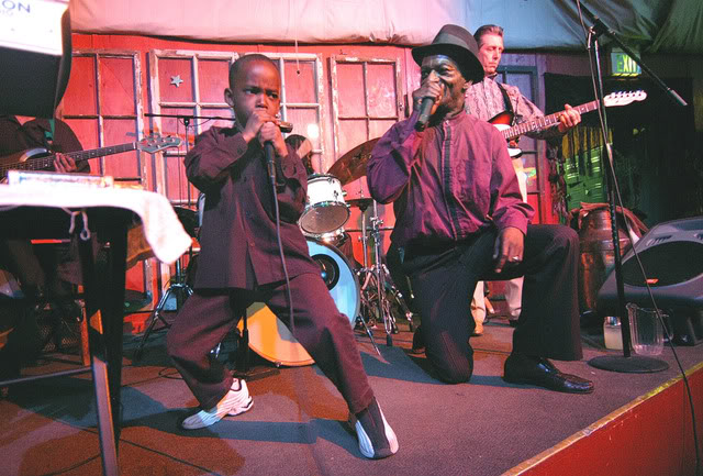 Blues legend Birdlegg and his son amaze the audience