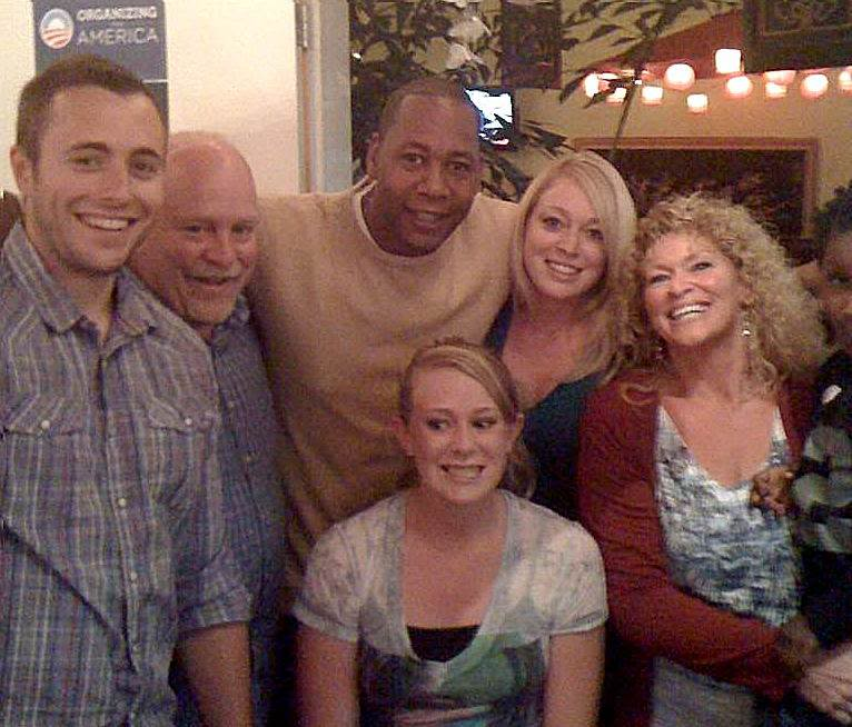 Comedian Mark Curry and friends1