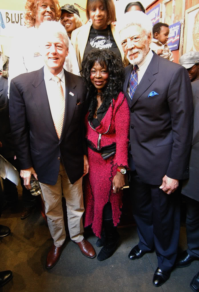 President Clinton and Congressman Ron Dellums